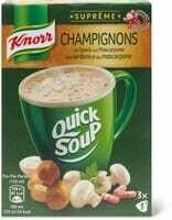 Knorr Suprême Instant champignons 48g