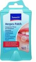 Sanactiv Herpes Patch 16 Pce