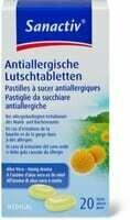 Sanactiv Pastilles à sucer antiallergiques 20Pce