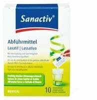 Sanactiv Laxatif sticks 10 pieces