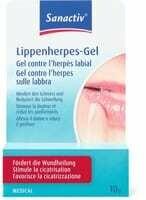Sanactiv gel contre l'herpès labial 10 g