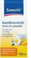 Sanactiv Extrait de camomille 100ml