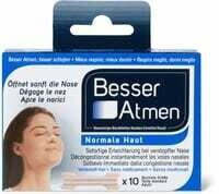 Respirer Activ bandelettes nasales 10 Pce