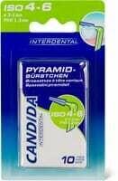 Candida Interdental Brossettes Pyramid 10 Pce