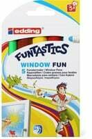 Edding Funtastics Window Fun 5 Pce