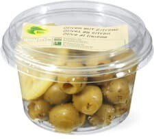 Bio Olives au citron 150g