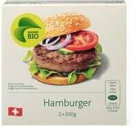 Bio hamburger boeuf 2 x 100g