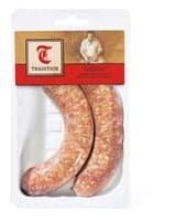 Saucisse rôtir porc 2 x 110g