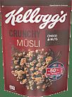 Kellogg's Crunchy Müsli Müesli • Choco & Nuts