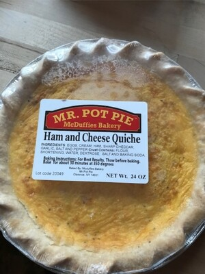 Quiche Ham and Cheese