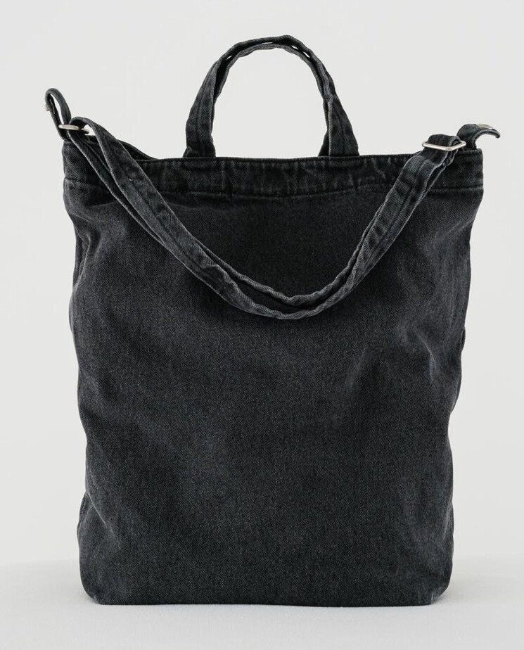 Baggu, Canvas Tote Bag, Washed Fabric