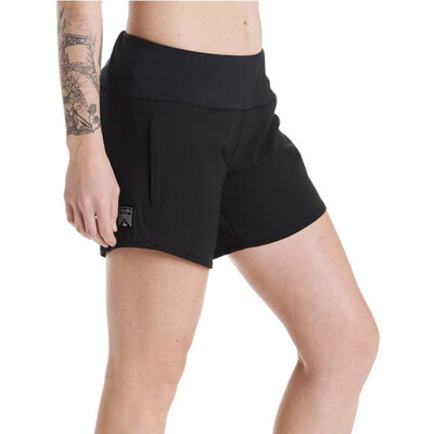 oiselle, long roga shorts