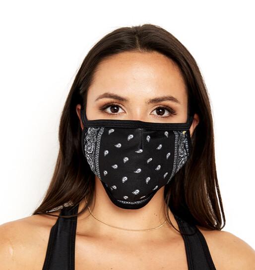 Goldsheep, Face Mask, Black Bandana