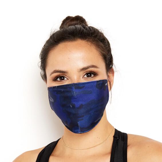 Goldsheep, Face Mask, Blue Camo