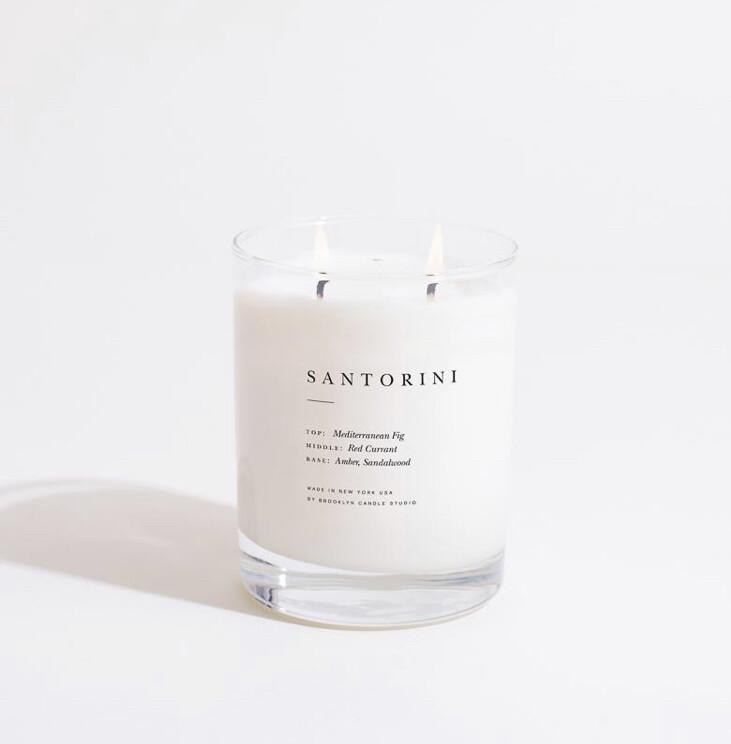 Brooklyn Candle, Escapist, Santorini