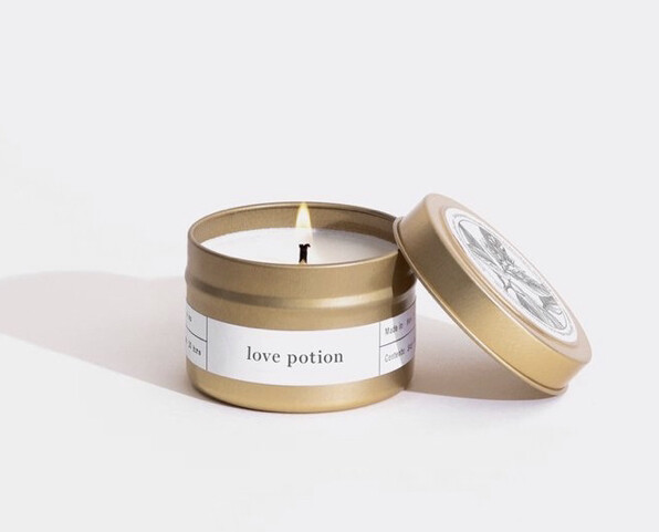 Brooklyn Candle, Gold Travel, Love Potion