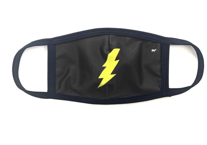 Goldsheep, Face Mask, Lightning Bolt
