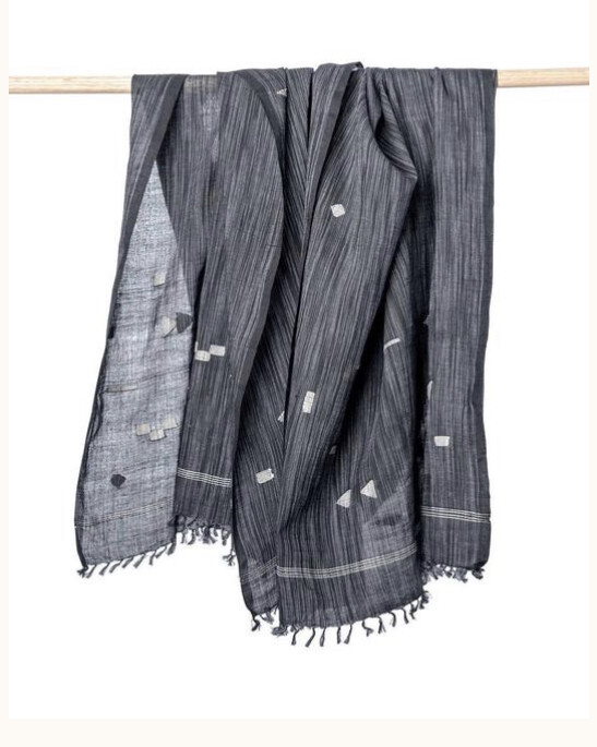 Bloom & Give, Gaya Scarf, black