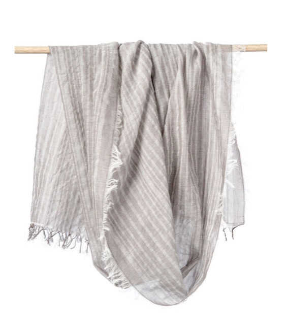 Bloom & Give, Leher Scarf, Taupe