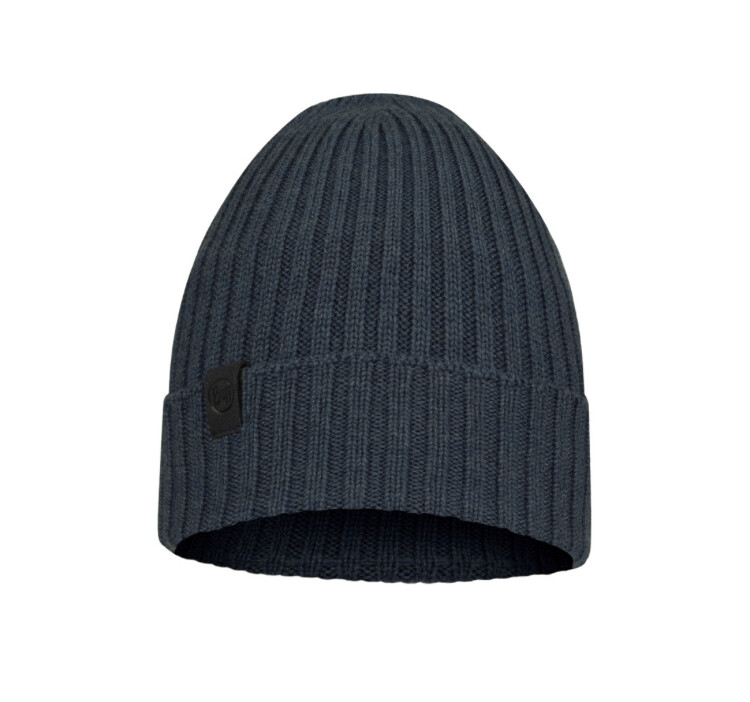 Buff, Ervin Knitted Hat, Denim