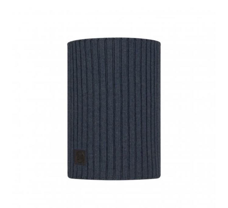 Buff, Norval Merino Neckwarmer, Denim