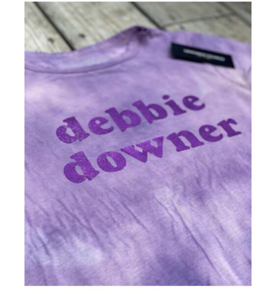 Unsweetened Tee, Debbie Downer