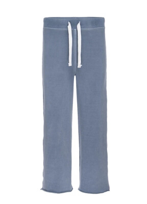 AMO Denim, Coco Wide Leg Sweat, Faded Teal