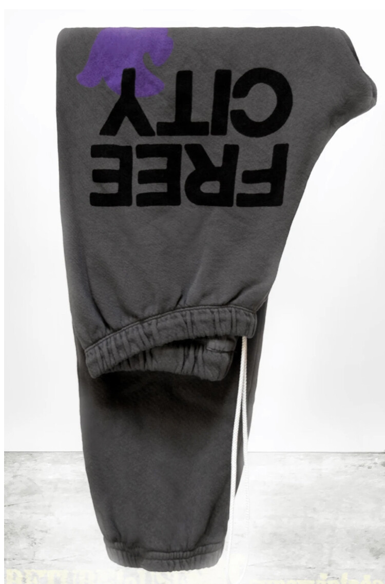 Free City, FreeCityLarge Sweatpant, Starstorm