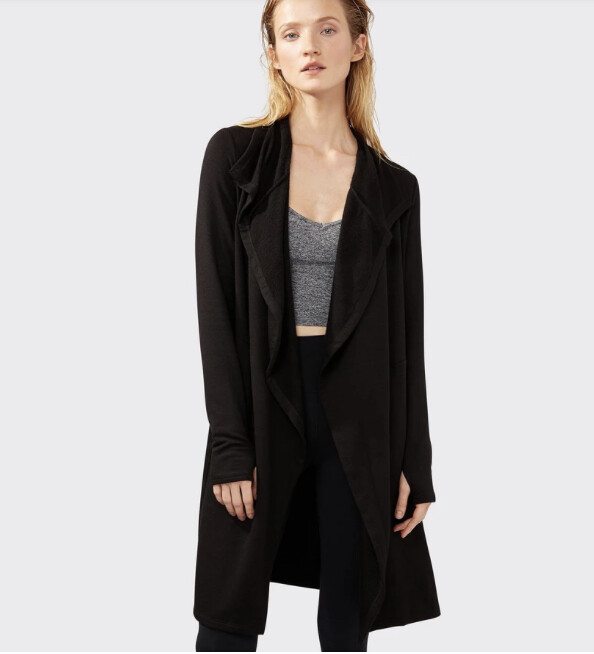 Splits59, Naomi Fleece Jacket, Black