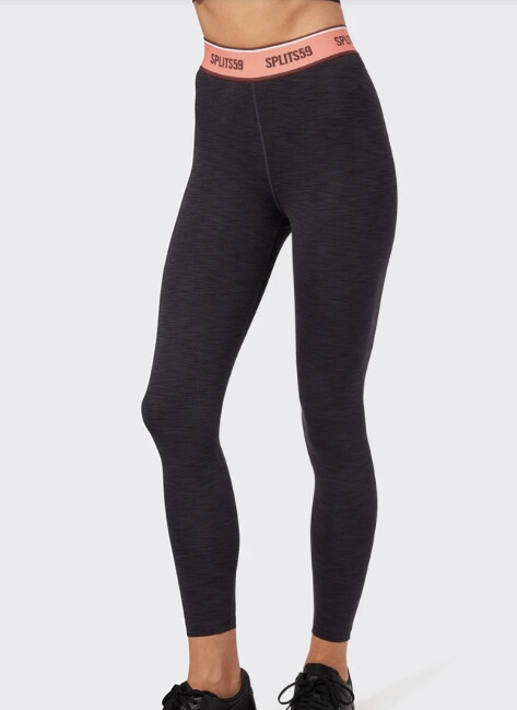 Splits59, Bailey High Waist Active Rib, Black