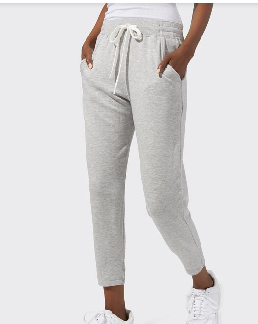 Splits59, Warmup 7/8 Fleece Sweatpant, HeatherGrey
