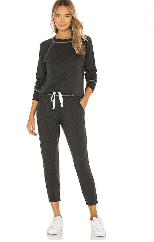 Splits59, Warmup Fleece Pullover, Dark Grey