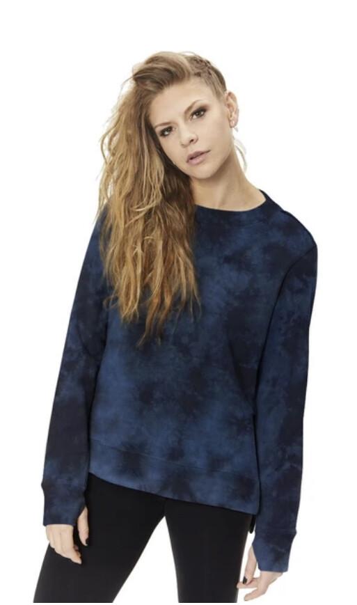 Nancy Rose, Dazed Sweatshirt, dk blue slate/black