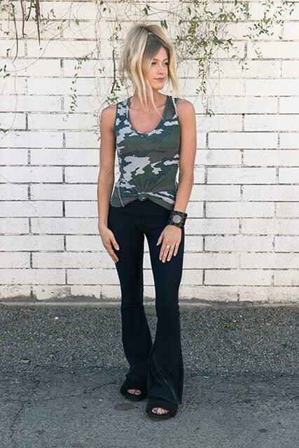 R&R Surplus, CMCT, Fitted Tank, Heather Camo