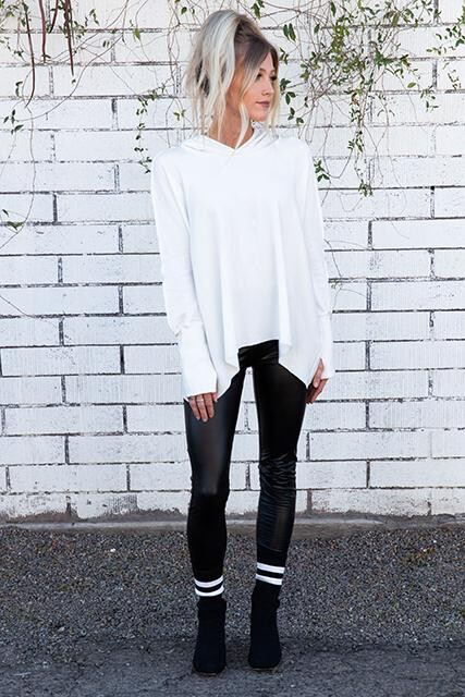 R&R Surplus, CFT2, Oversized LaceUp Sweatshirt