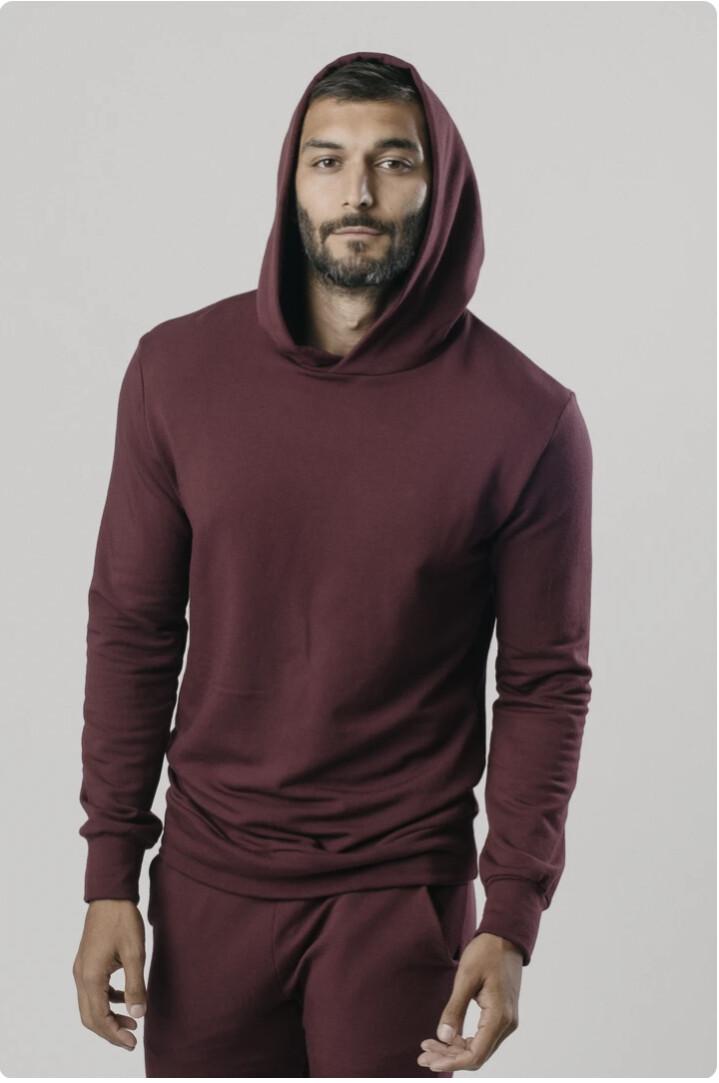 Softwear, Pullover Hoodie, Mens