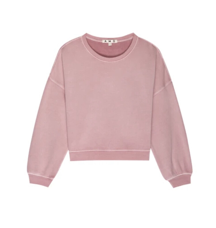 AMO Denim, Easy Sweatshirt, Pink