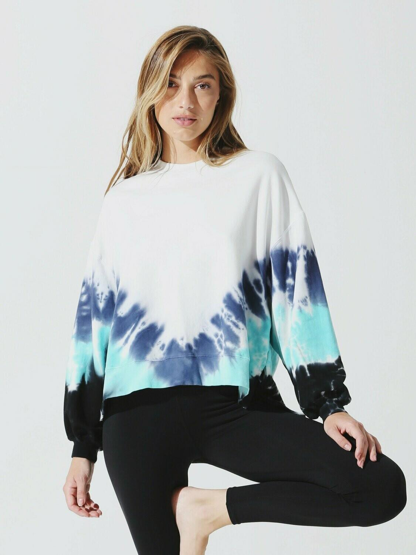 Electric and Rose, Neil Sweatshirt, Cloud/Denim/La