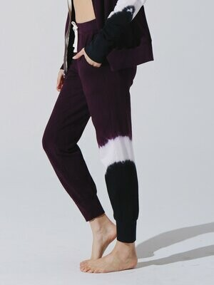 Electric and Rose, Mason Sweatpant, Aubergine Wash