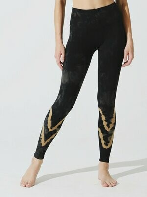 Electric and Rose, Sunset Legging, Onyx/Honey