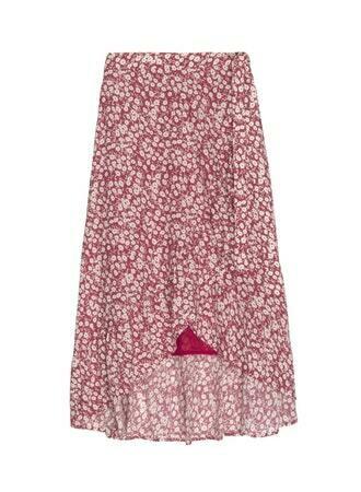 Rails, Neptune Skirt, Scarlet Camelia
