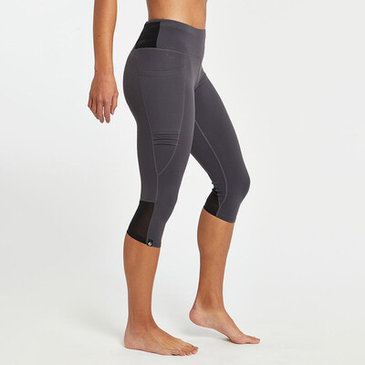 Oiselle, Triple Threat Knickers, Obsidian