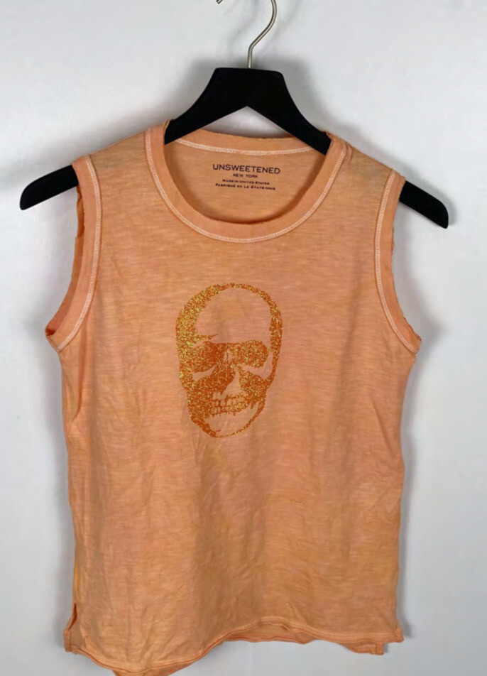 Unsweetened, Skull Coral Muscle Tank