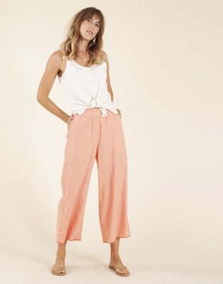 Carve Designs, Ryder Pant, Coral Chambray