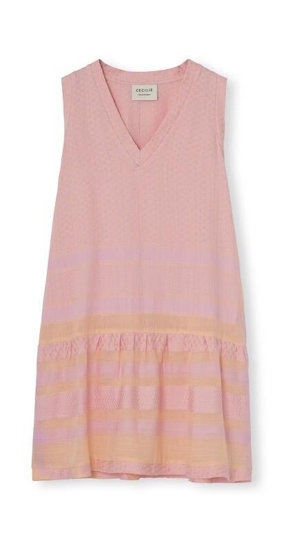 Cecilie Copenhagen, Dress 2, V Neck, Short Sleeve