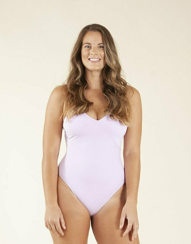 Carve Designs, Hayes One Piece, Lilac