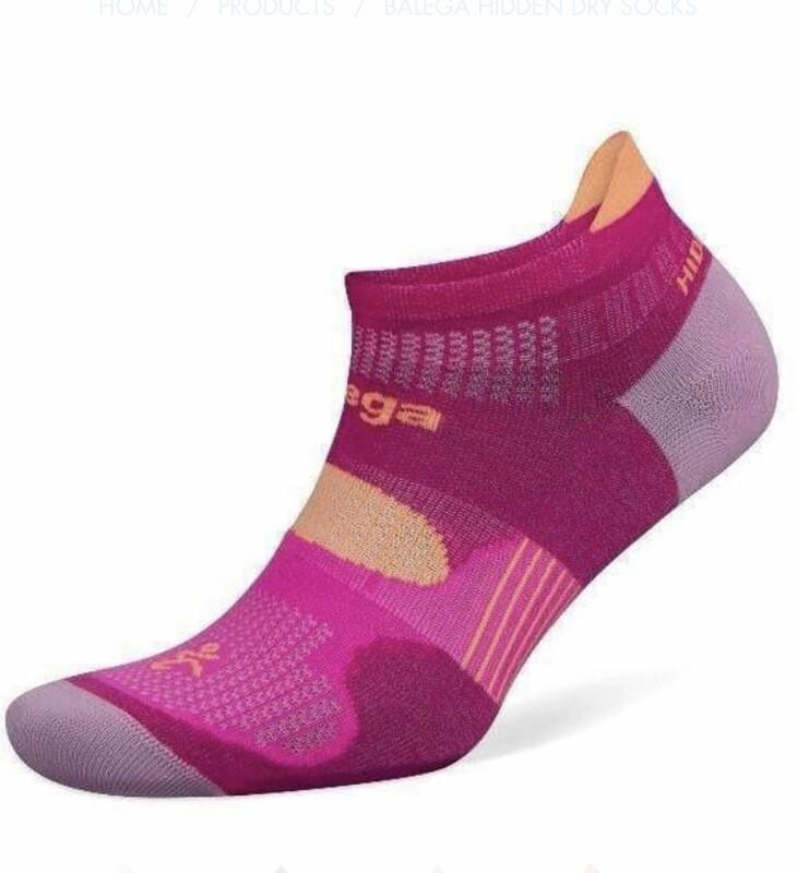 Balega Socks, Hidden Dry Weightless