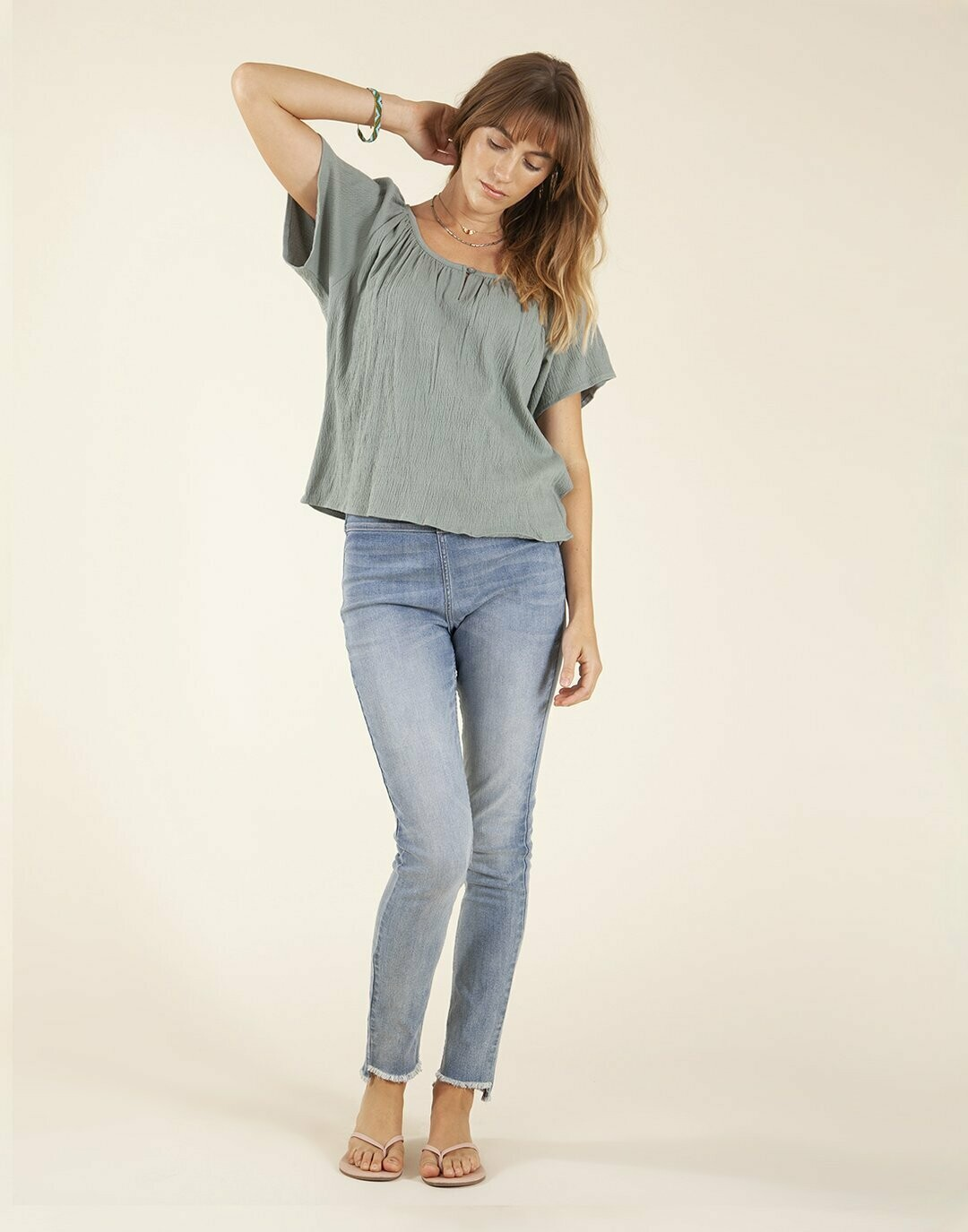 Carve Designs, Sol Top, Thyme