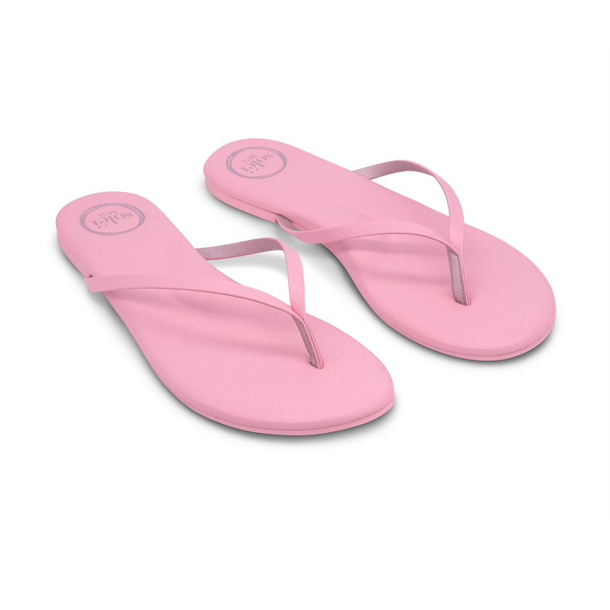 Solei Sea, Flip Flops, Baby Pink