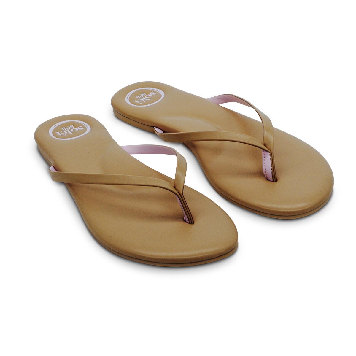 Solei Sea, Flip Flops, Nude/Pink
